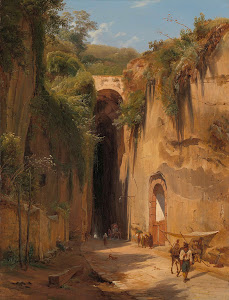 RIJKS: Antonie Sminck Pitloo: The Grotto of Posillipo at Naples 1826