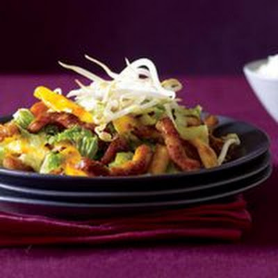 Teriyaki Pork-and-Mango Stir-Fry