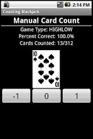 Screenshot of Count'em Blackjack