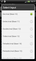 Screenshot of Base Converter Plus
