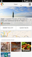 Screenshot of Taipei City Guide