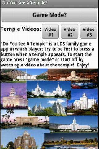 Do You See A Temple LDS Game