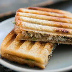 Crab Salad and Sourdough Panini