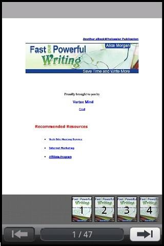 Fast Powerful Writing Preview