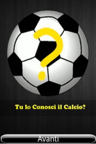 Tu lo Conosci il Calcio