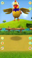Screenshot of Talking Chicken