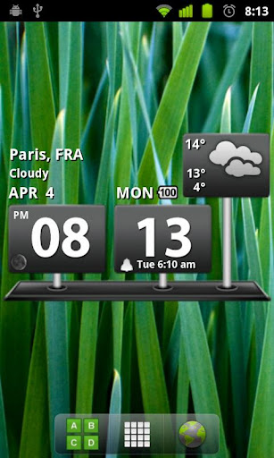 billboard-digital-weather-widg for android screenshot