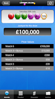Screenshot of Health Lottery App 2.7 Play