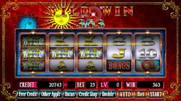 Screenshot of SUPER 25LINES TAROT SPIN2