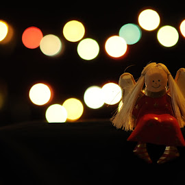 Lonely Smile by Dimas Prasasto - Artistic Objects Toys ( doll, ningyou, light, lonely, bokeh )