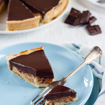 Chocolate And Semolina Tart