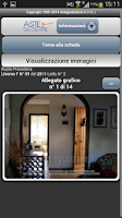 Screenshot of Aste Giudiziarie Mobile