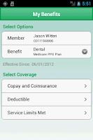 Screenshot of My CDPHP® Mobile