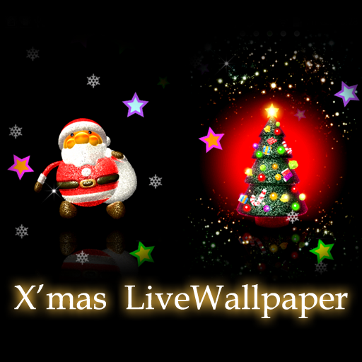X*mas santa tree LiveWallpaper 個人化 App LOGO-APP試玩