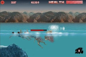 Screenshot of Piranha 3DD: The Game