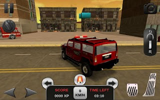 Screenshot of Firefighter Simulator 3D