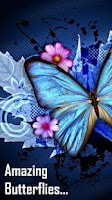 Screenshot of 3D Butterfly Wallpapers