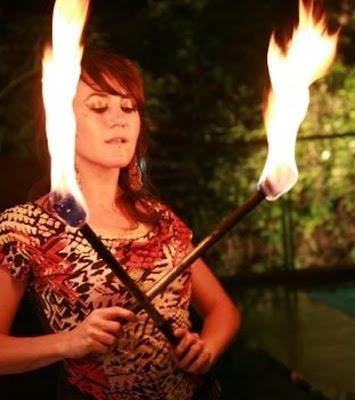 Ritual Fire Dancing