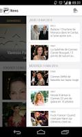 Screenshot of PurePeople: actu & news people