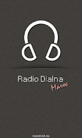 Screenshot of Radio Dialna (Moroccan radios)