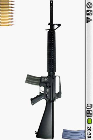 【免費娛樂App】M16的機槍-APP點子