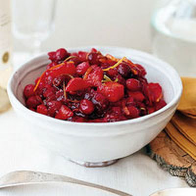 Cranberry-Mango-Citrus Relish