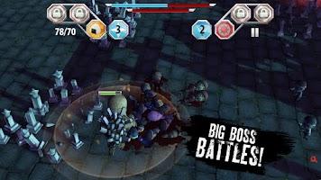 Screenshot of Finger Ninjas: Zombie Stri ...