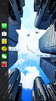 Screenshot of City Sky Live Locker Theme