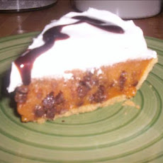 Mini Chocolate Chip Butterscotch Pudding Pie