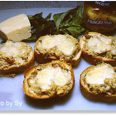 E-Z Artichoke and Cheese Bruschetta