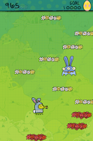 Screenshot of Doodle Jump Easter Special