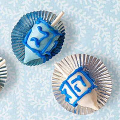 Spin-the-Dreidel Pops