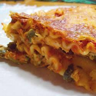 Cream Cheese Chicken Lasagna