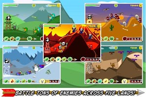 Screenshot of BowQuest: PandaMania! Lite