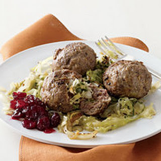 Inside-Out Stuffed Cabbage Meatballs