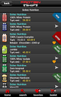 Screenshot of Protein-Shop