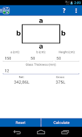 Screenshot of Aquarium Calculator