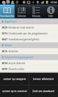 Screenshot of NHG Standaarden