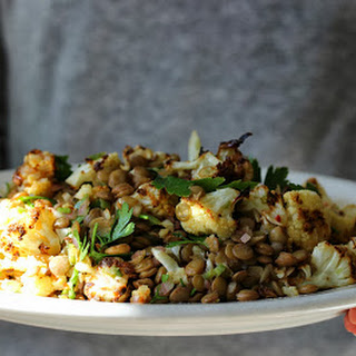 Roasted Cauliflower with Lime Vinaigrette