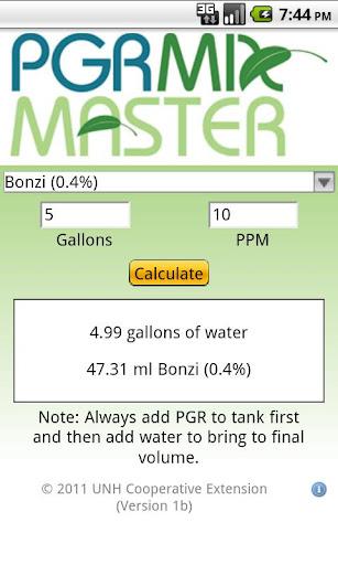 PGR Mix Master