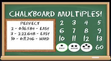 Screenshot of Chalkboard Multiples