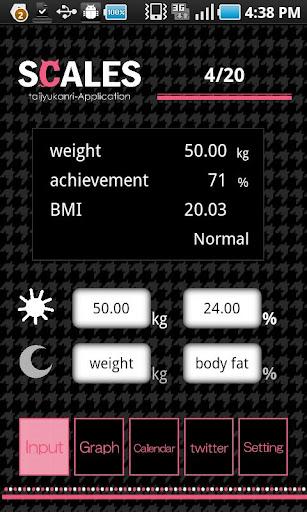 SCALES 体重管理