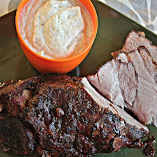 Garlic and Spice-Rubbed Pork Shoulder With Whipped Cauliflower