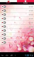 Screenshot of رنات رومانسية رائعة