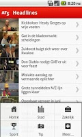 Screenshot of AT5 Nieuws