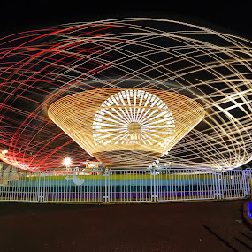 by Ujang Ikhsan - Abstract Light Painting