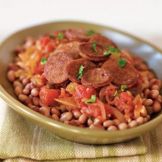 Black-Eyed Peas with Chorizo and Guiso