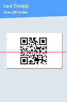 Screenshot of CardSwapp QR Scanner Cardswap