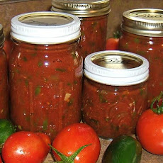 Zesty Salsa for Canning