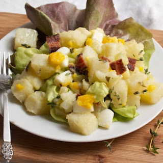 Potato Salad with Bacon, Egg, and Tarragon Dressing